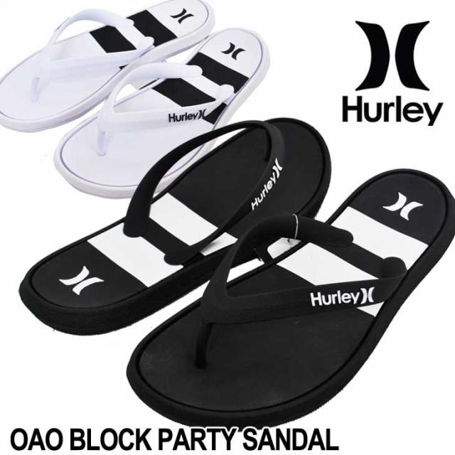 Hurley ハーレー ビーチサンダル OAO BLOCK PARTY...
