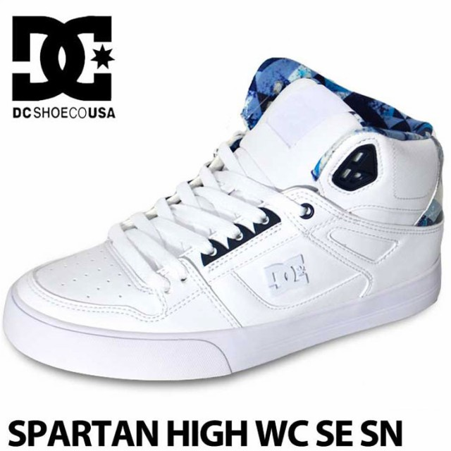 DC スニーカー ディーシー SPARTAN HIGH WC SE SN...