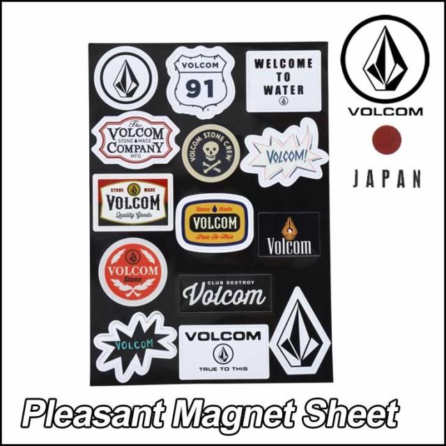 volcom JapanLimited ボルコム マグネット メンズ...