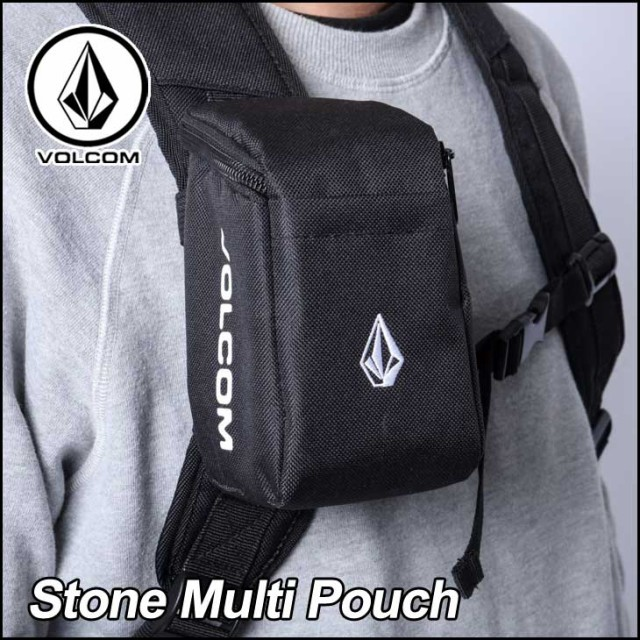 volcom ボルコム バッグ ポーチ Stone Multi Pouc...