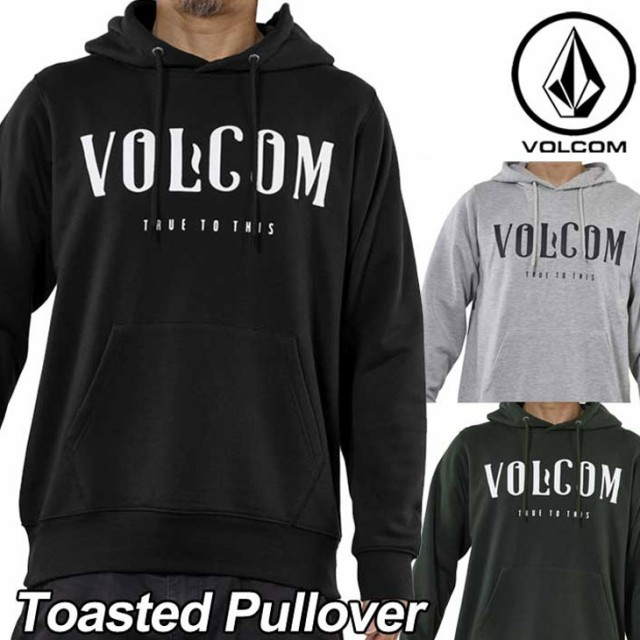 VOLCOM ボルコム パーカー メンズ Toasted Pullov...
