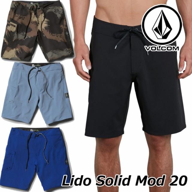 ボルコム サーフパンツ Lido Solid Mod 20 メンズ...