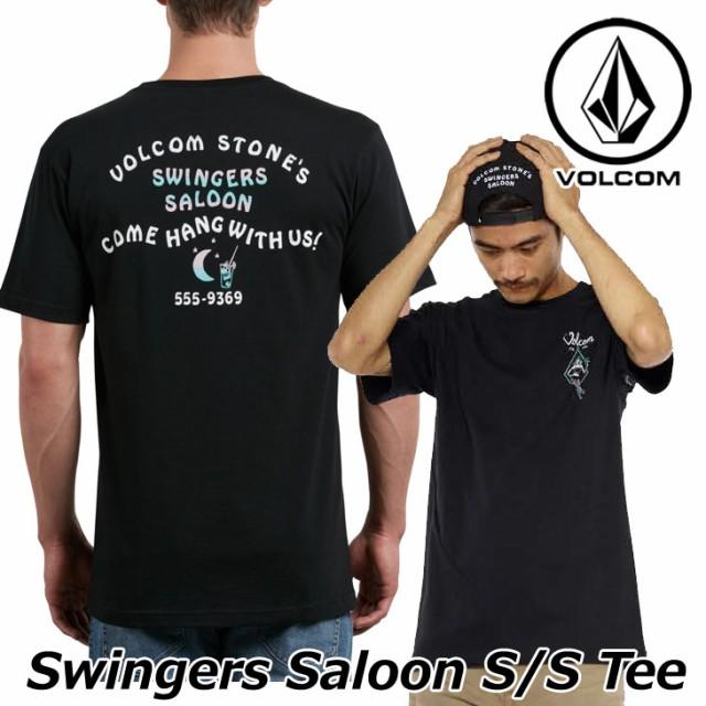 ボルコム tシャツ volcom メンズ Swingers Saloon...