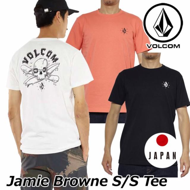 ボルコム tシャツ メンズ Jamie Browne S/S Tee ...