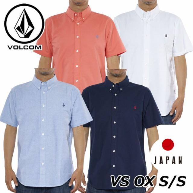 ボルコム シャツ メンズ VS OX S/S シャツ オック...