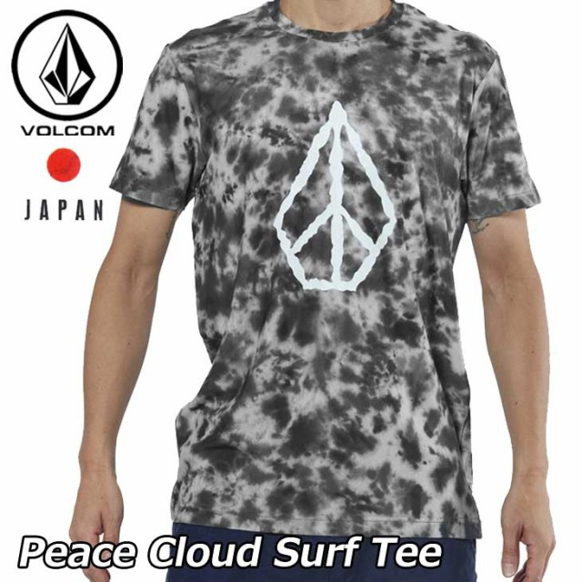 ボルコム ラッシュガードTシャツ Peace Cloud Sur...