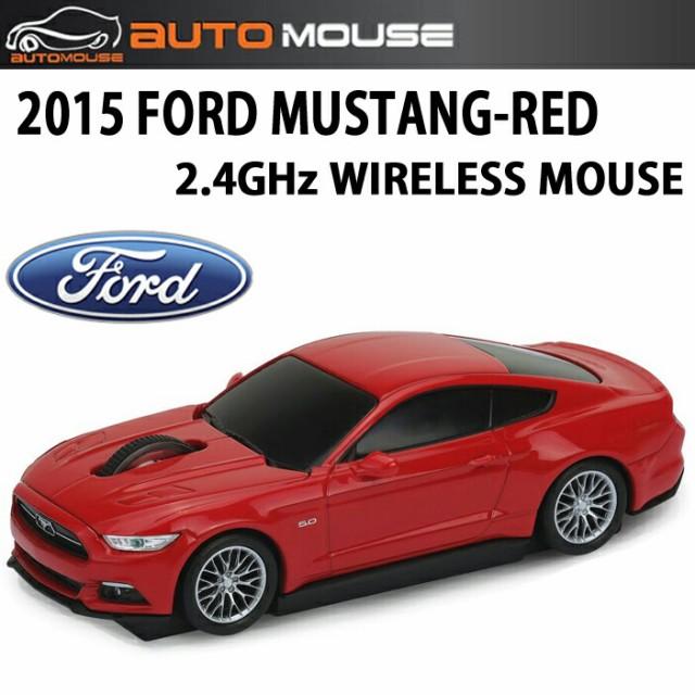 AUTOMOUSE オートマウス 2015 MUSTANG レッド 201...