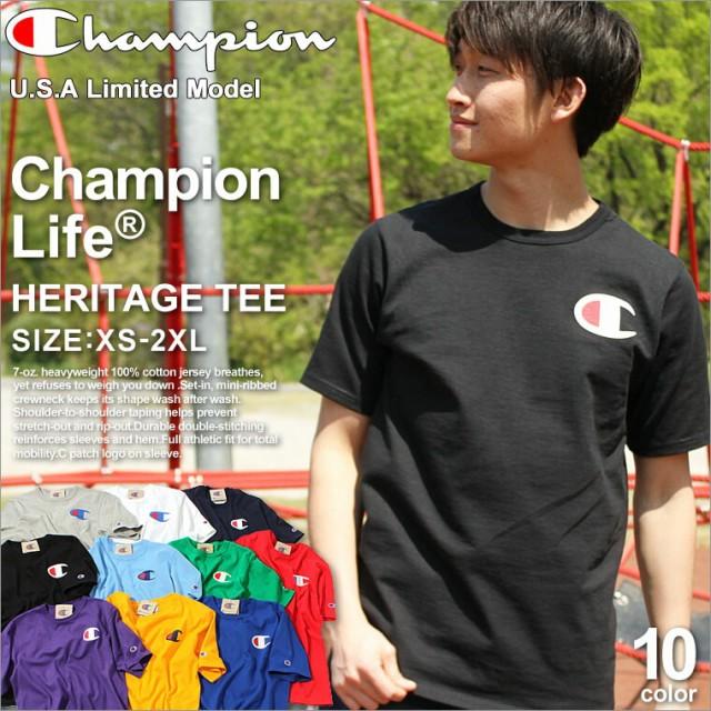 Champion チャンピオン tシャツ メンズ 大きいサ...
