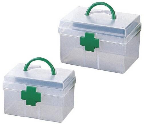 救急箱(ドクターQ) 規格:L サイズ:W178×D134...