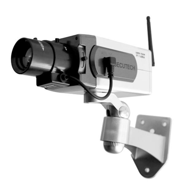 ワイヤレス型ダミーカメラ 〔屋内・軒下用〕 CCTV...