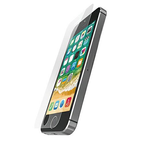 エレコム iPhone SE ガラスフィルム ゴリラ PM-A1...