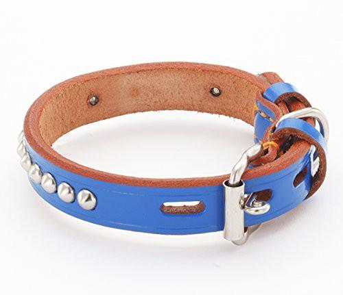 ペティオ 犬用首輪 手縫平首輪中一 BL 36 大型犬...