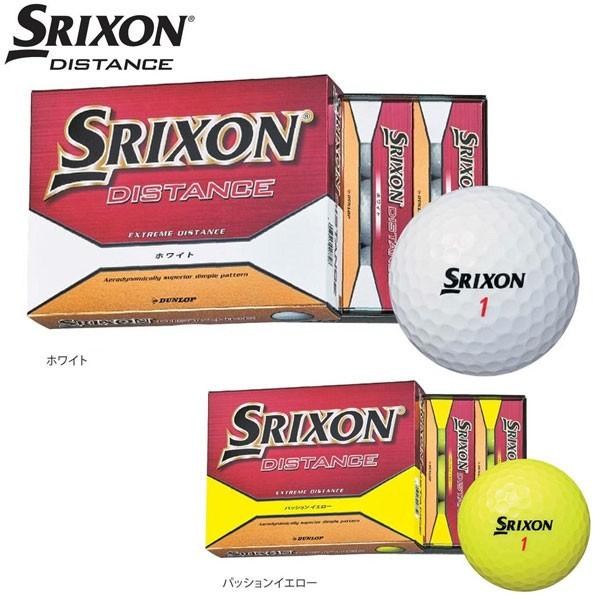 スリクソン ディスタンス ゴルフボール 1ダース 2...