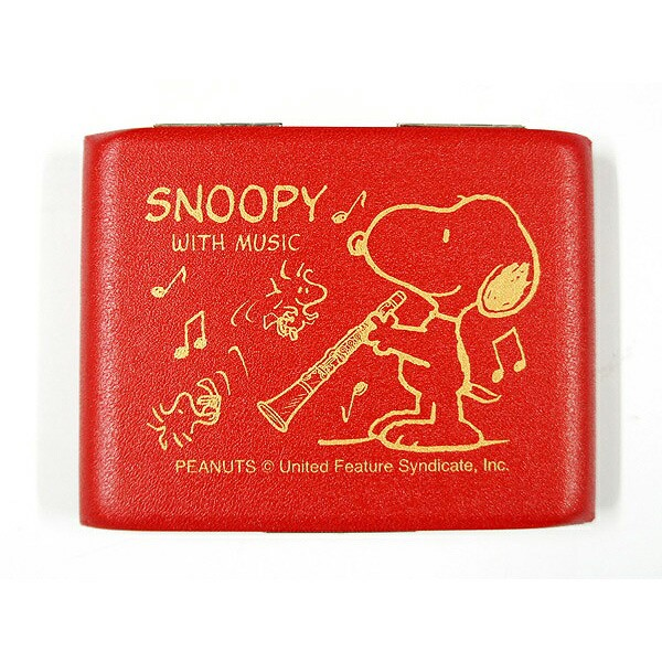 SNOOPY WITH MUSIC「SCL-05RED」 スヌーピー×リ...