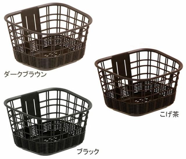 【OGK技研】 自転車用前カゴ   FB-039K 籐風まえ...