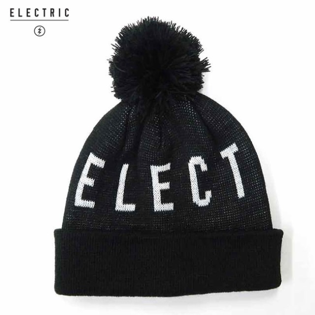 ビーニー ELECTRIC エレクトリック JACQUARD POM ...