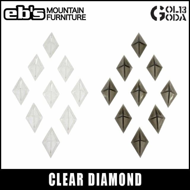 送料無料 デッキパッド eb's エビス CLEAR DIAMON...
