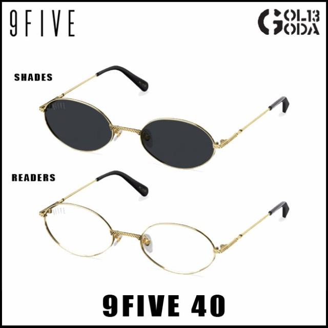 サングラス 9FIVE 9five 40 24K Gold ナインファ...