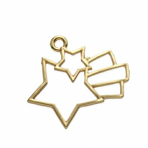 【空枠】流れ星 《きれいめゴールド》 [ほし,ホ...