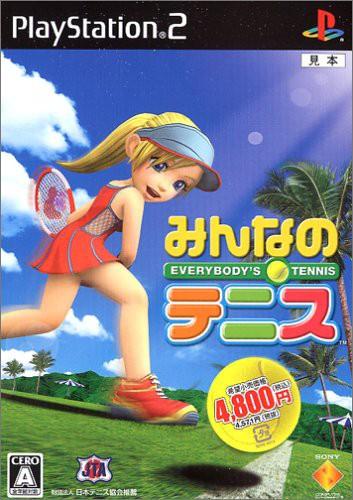 【中古】 PS2 みんなのテニス