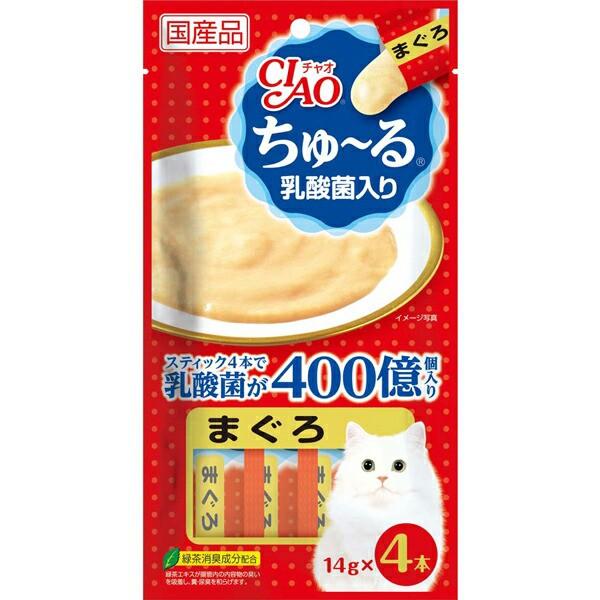 チャオ ちゅ〜る 乳酸菌入り まぐろ 14g×4本 [...