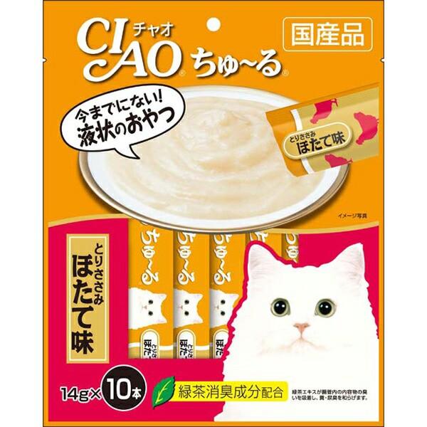 チャオ ちゅ〜る とりささみほたて味 14g×10本 [...