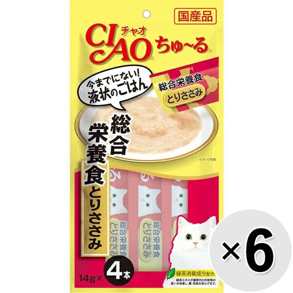 【セット販売】チャオ ちゅ〜る 総合栄養食 とり...