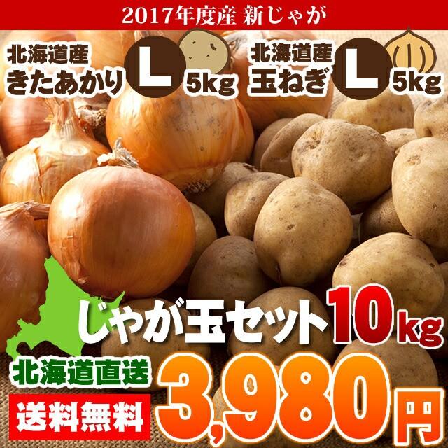 送料無料 北海道産 じゃが玉セットL(じゃがいも...