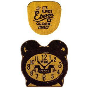 トイレ2点セット Eleven o'clock フタカバー&...
