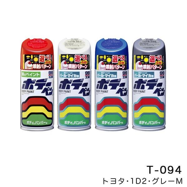 ソフト99 ボデーペン トヨタ 1D2 グレーM 塗料 ペ...