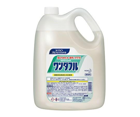 花王 食器用洗剤 (ワンダフル) 4.5L 7-2097-0...