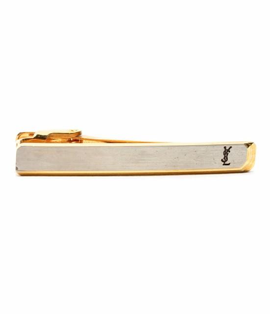 イヴサンローラン ロゴマーク 2カラー 金属素材 ...