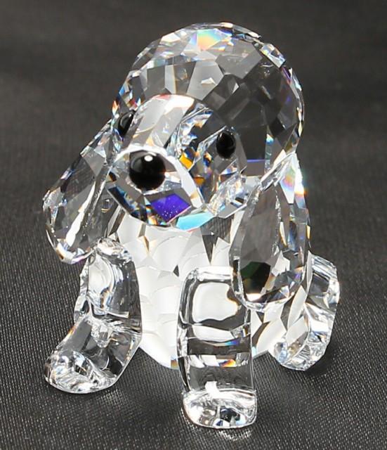 スワロフスキー クリスタル ビーグル 犬モチーフ ...