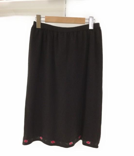 バランタイン SIZE 5 (M) 美品 カシミヤスカート ...