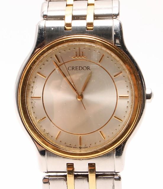 セイコー 腕時計 クレドール 9571-6020 740056 ク...