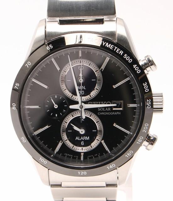 美品 セイコー 腕時計 スピリット V172-0AP0 ソー...