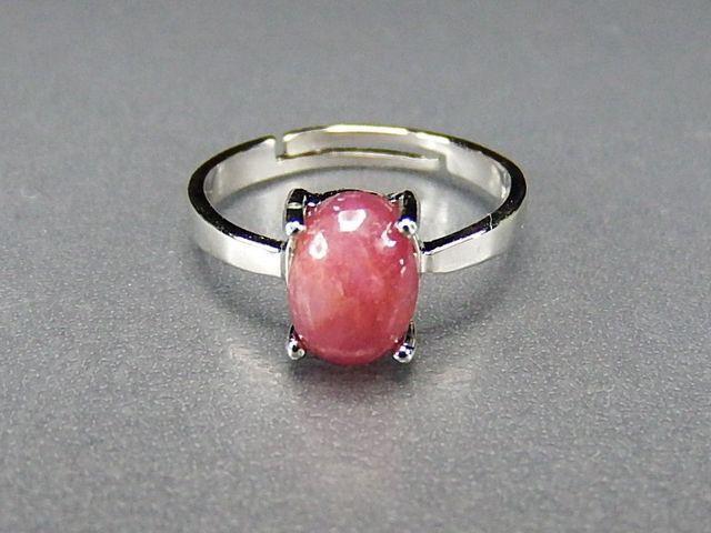AA+ルビー指輪リング天然石7月誕生石シンプル指輪...