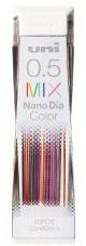 三菱鉛筆 ユニ ナノダイヤカラー 0.5mm (ミックス...