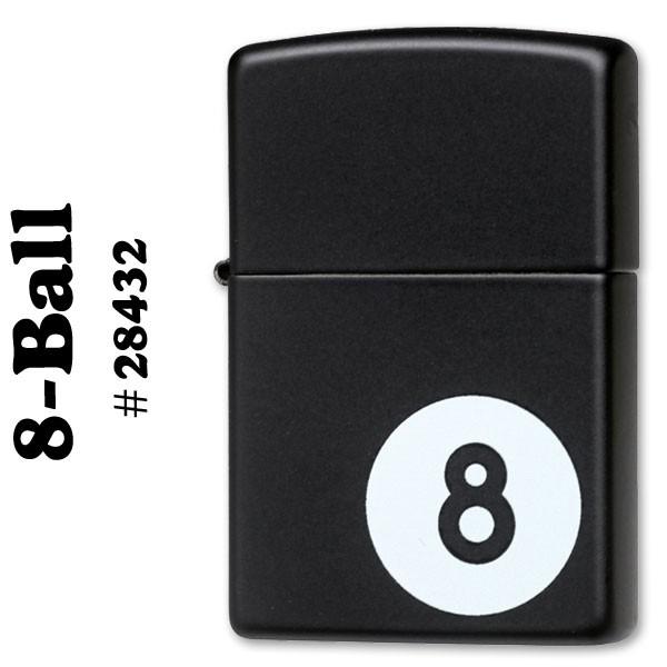 zippo(ジッポーライター)ビリヤード 8-Ball (エ...