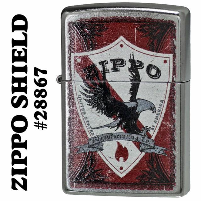 zippo(ジッポーライター)ZIPPO SHIELD(盾)Stree...