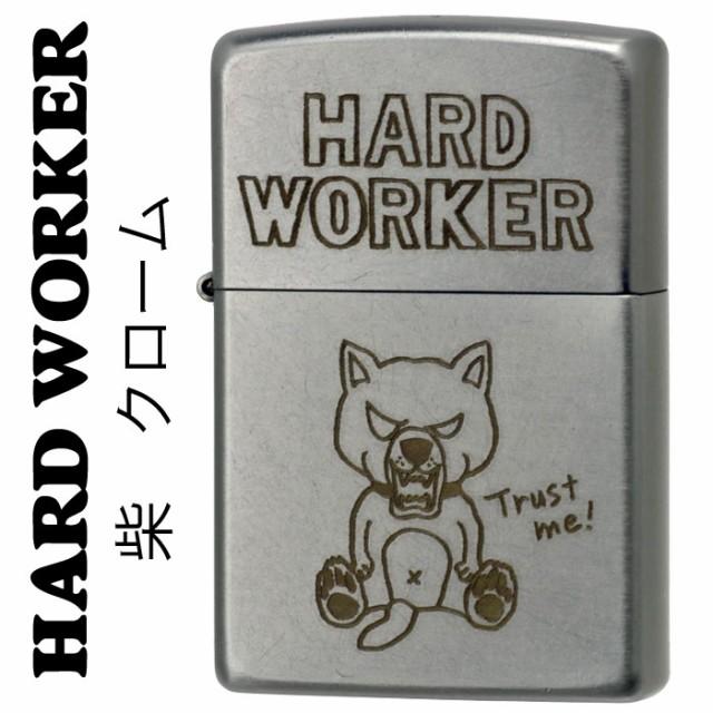 zippo(ジッポーライター)HARD WORKER シバ 柴犬 T...