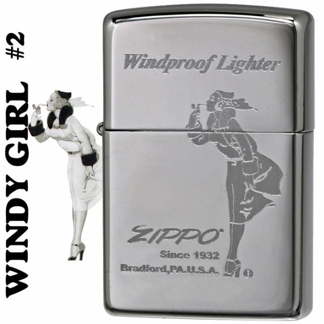 zippo(ジッポーライター)Windy-girl #2 ウィンデ...