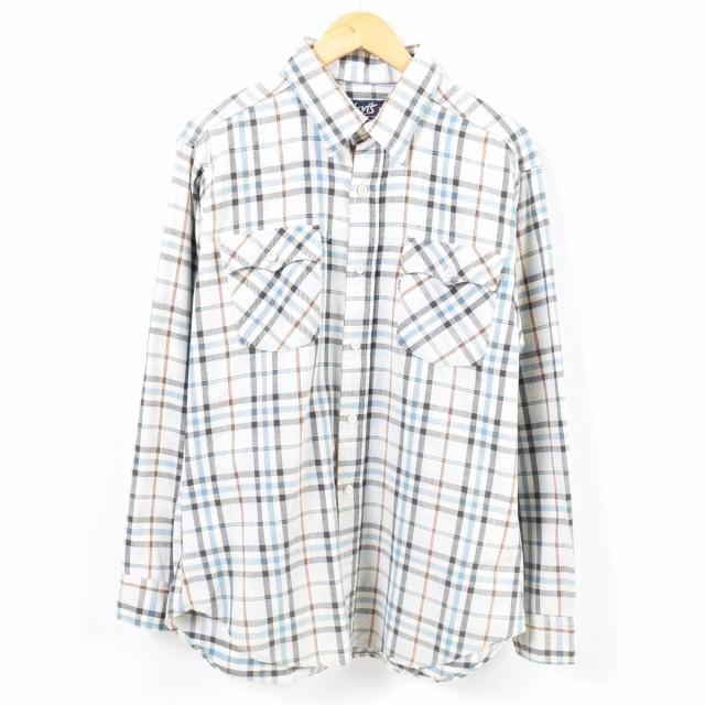 リーバイス Levi's 長袖 コットンチェックシャツ ...