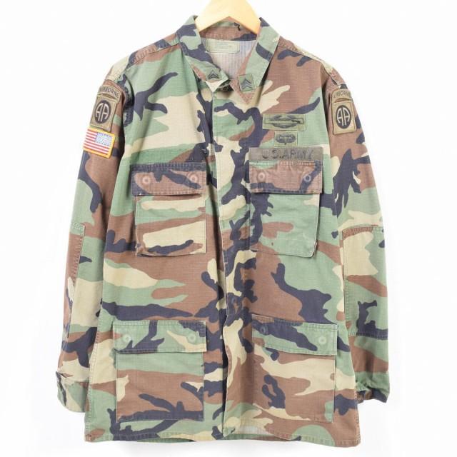 00年納品 米軍実品 U.S.ARMY ウッドランドカモ 迷...