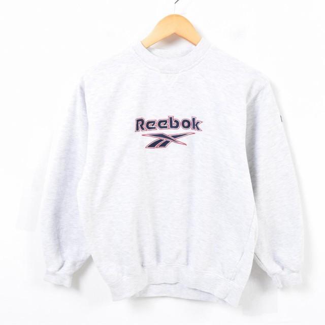リーボック Reebok ロゴスウェット トレーナー レ...