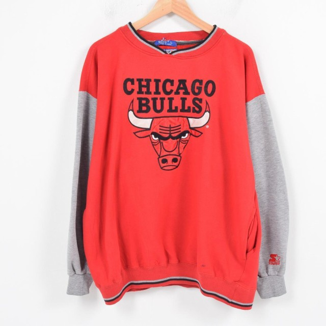 スターター Starter NBA CHICAGO BULLS シカゴ ブ...