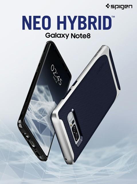 Galaxy Note8 ケース SC-01K SCV37 Spigen Neo Hy...