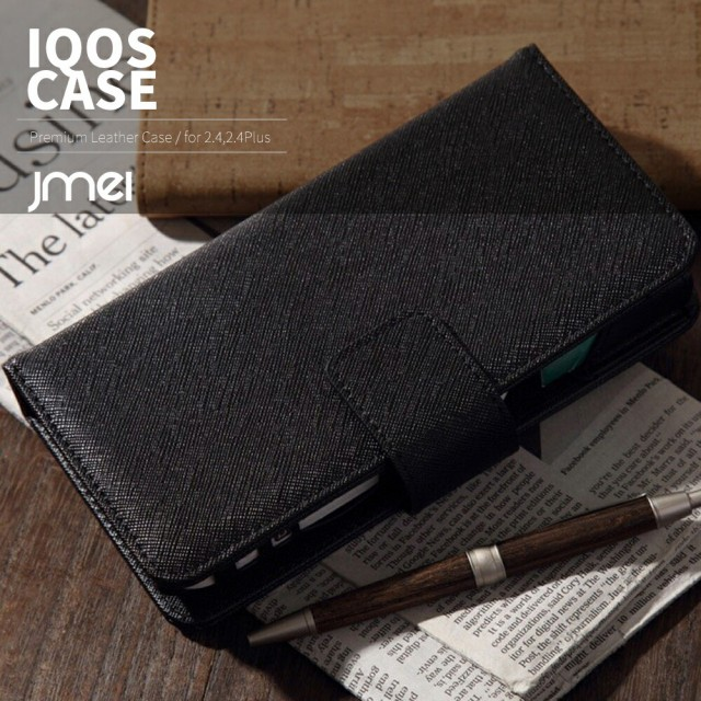 iQOS ケース 本革 レザー IQOS 2.4 Plus 対応 ア...