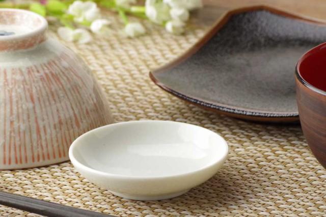 白8.1cm小皿