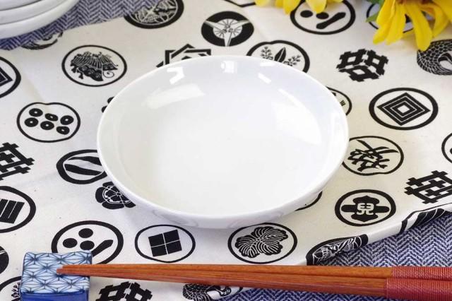 白11.7cm小皿